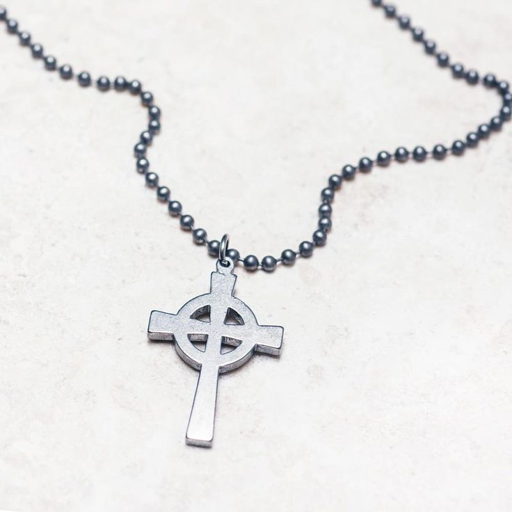 Military Issue Cross Necklace