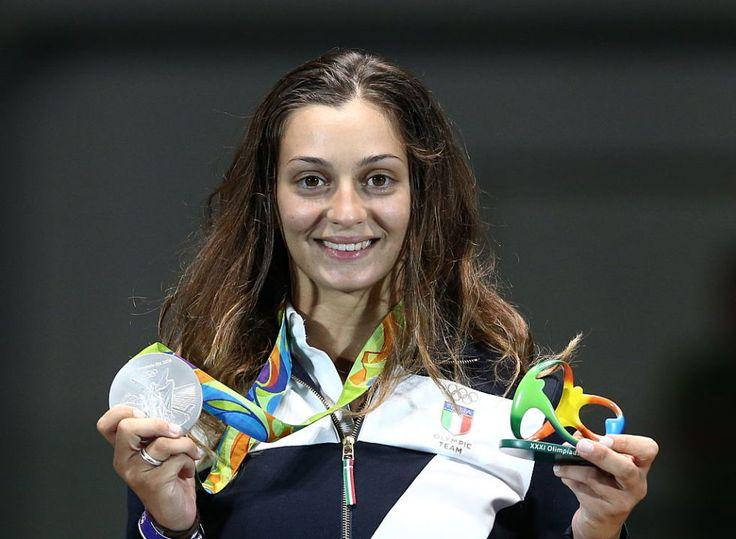 Rossella Fiamingo _Medaglia d'argento per l'atleta catanese nel torneo individuale di spada