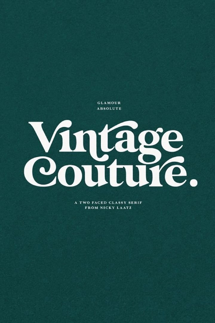 Glamour Absolute Modern Vintage Font In 2020 Vintage Fonts Photoshop Templates Free Fancy Letters