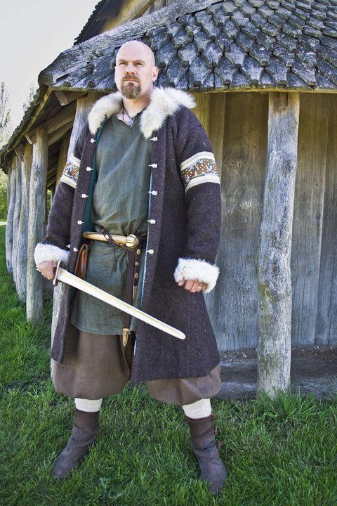 Historical Viking Embroidery Men S Clothing