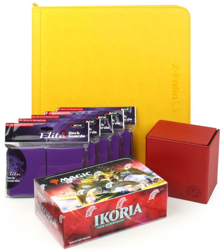 Mtg ikoria cards and bcw card accessories gaming