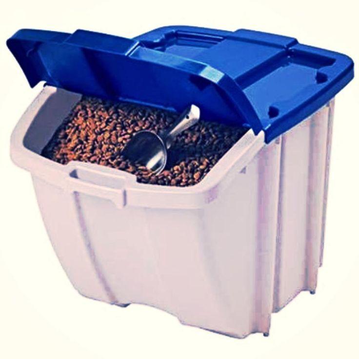 Dog food container dog food storage bin 50 lbs feeding