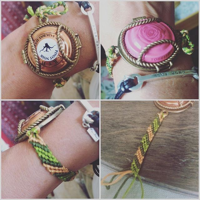 Make your own band to your @wearingmemories lockets! I learned this technique as a child. Very easy and fast! #wearingmemories…