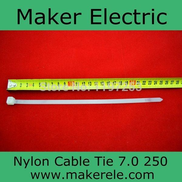 Купить товарUl одобрил 94V 2 самоконтрящаяся нейлон кабельные стяжки 250 мм MKCT 7.0 * 250 мм 100 шт./пакет в категории Кабельные стяжкина AliExpress.  Размер: 7.0 мм * 250 мм  ROHS Нейлон Кабельные стяжки 250 мм 1. профессиональный производитель 2. UL, CE, ROHS, достичь