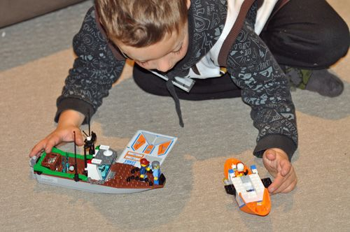 Cooper Quinn and Lego City