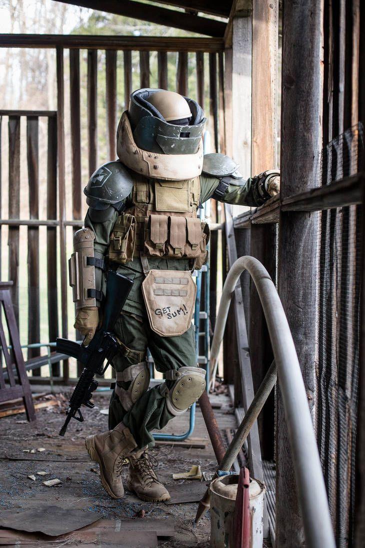 Cod Juggernaut Cosplay 3 By Tylercairnsart Modern Warfare Military Gear Call Of Duty