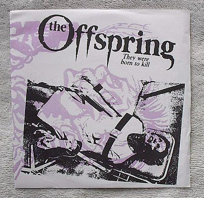 used-7-The-Offspring-THEY-WERE-BORN-TO-KILL-vinyl-record