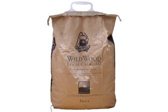 WildWood Sustainable Home Grown Charcoal £9.98  Made in Sussex in the UK, much easier to light so no need for fire lighters.