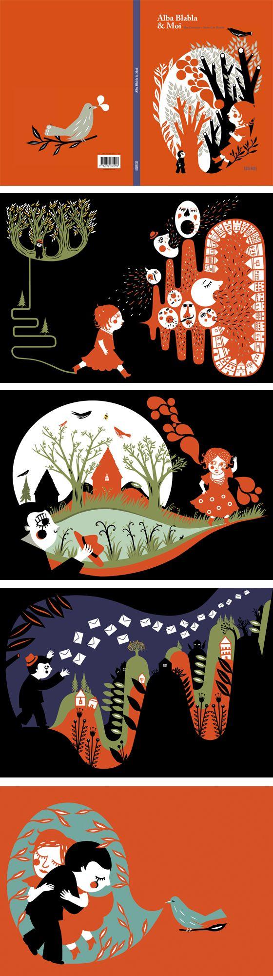 by Anne-Lise Boutin #ContameUnCuento #serigrafiar #genialidad