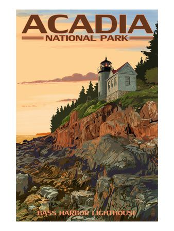 384 best images about national parks other places for Acadia national park fishing