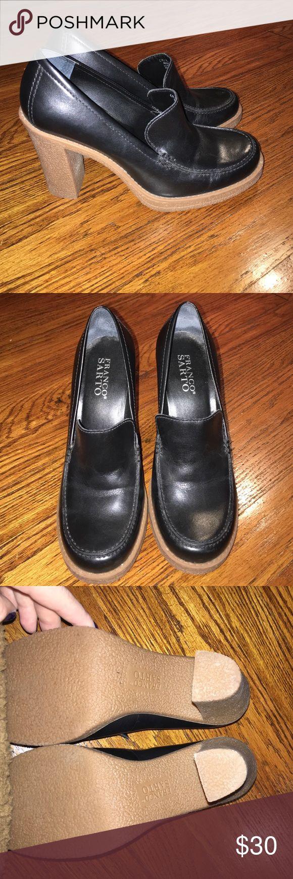 NWOT Franco Sarto Heels SO CUTE!! Perfect condition!! Franco Sarto Shoes