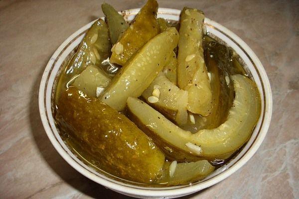 Домашние соленые огурцы с горчицей на зиму