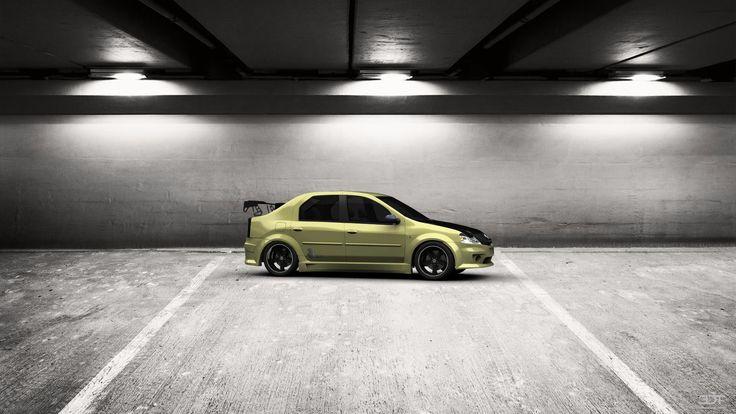 Checkout my tuning #Renault #Logan 2010 at 3DTuning #3dtuning #tuning