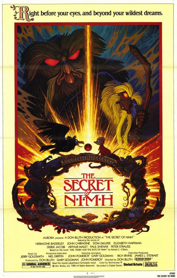 the secret of nihm | The Secret of NIMH Movie Posters From Movie Poster Shop