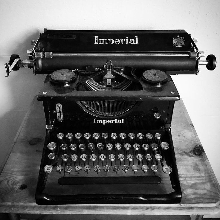 #imperial #typewriter #classic
