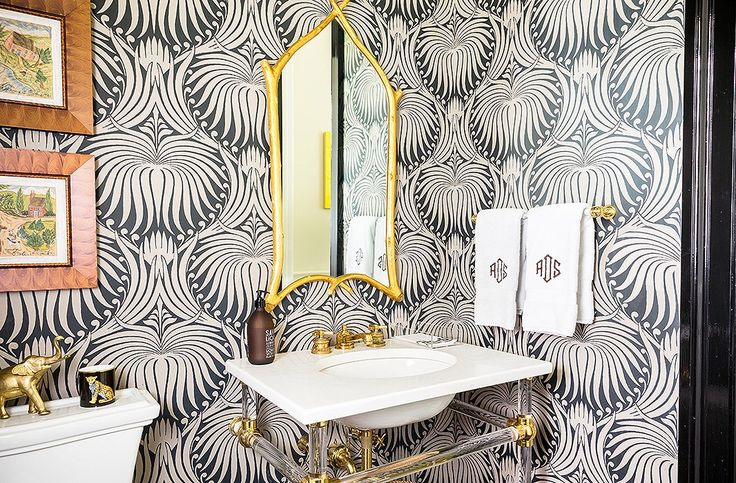The Most Fabulously Wallpapered Rooms We've Ever Seen
