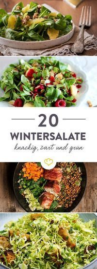 20 winter recipes for your salad bowl