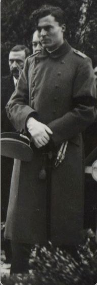 Searches for Stauffenberg pictures yields more results when conducted in German. Ohh, he's so young in this picture, he must have just joined the calvary. And his hair. His cheekbones. That beautiful uniform. I think he's wearing gloves. … I love...
