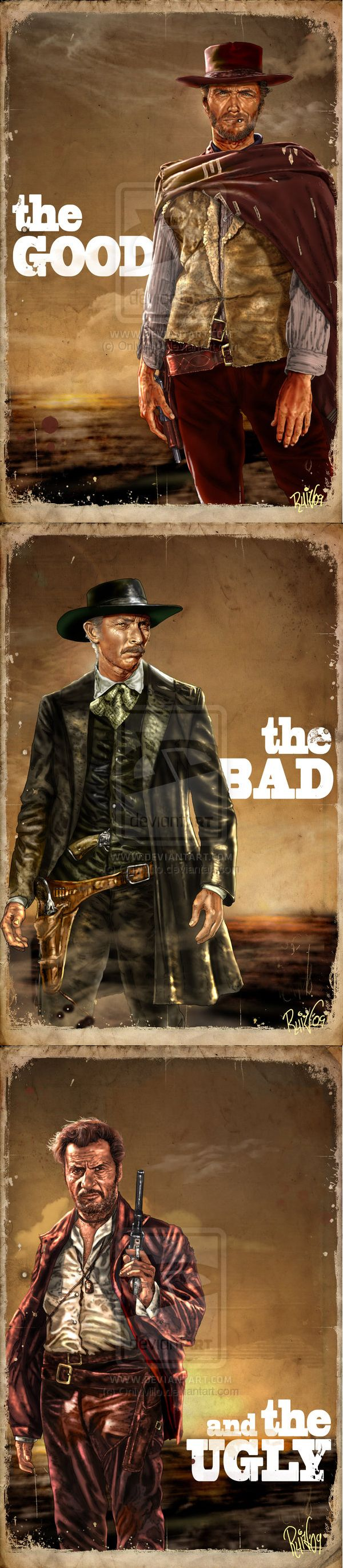 The Good, the Bad and the Ugly by Only Milo