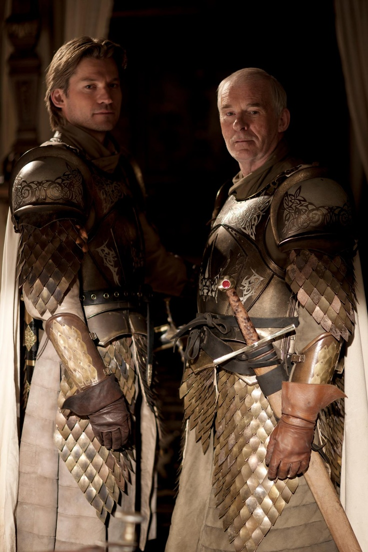 Jamie Lannister and Barristan Selmy Game of Thrones
