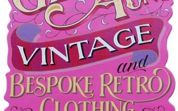 Giddy Aunt vintage and retro clothing make some classic pieces, based in Narberth it's a fascinating and vintage-fresh take on fashion