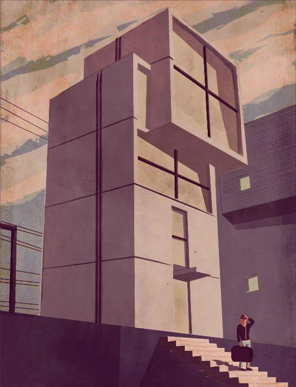Giordano Polloni—House in Kobe (Tadao Ando) http://www.giordanopoloni.com