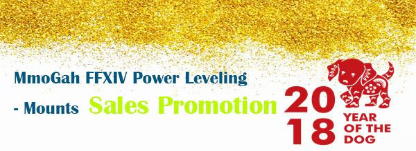 MmoGah FFXIV Power Leveling - Mounts Sales Promotion