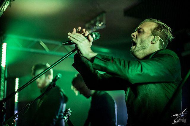Einar Solberg ov Leprous at Wydzial Remontowy - Gdansk, Poland | Flickr - Photo Sharing!