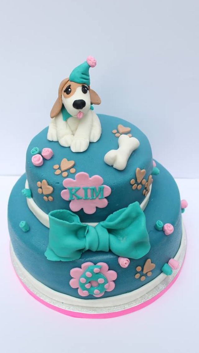 Best 25 Puppy Dog Cakes Ideas On Pinterest Puppy Cake