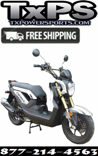Taotao Zummer 50 Sporty Gas Street Legal Scooter Free Shipping Sale Price: $879.00