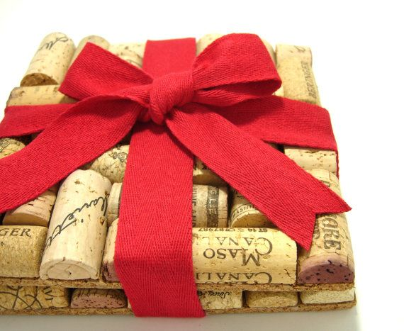 Upcycled Wine Cork Trivets by makingcents on Etsy, $12.50