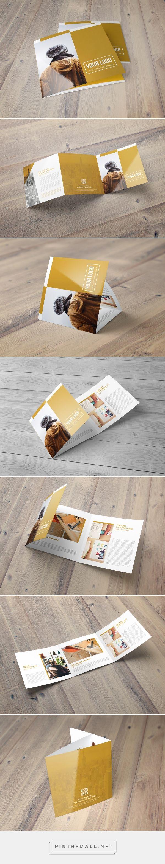 Square Trifold Brochure 4 by Hazem Tawfik