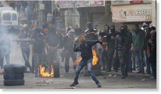 Nigel Wilson Al Jazeera Tue, 05 Jul 2016 15:42 UTC   © Reuters Israeli police have been authorised to use lethal force as a first resort against Palestinians throwing stones, firebombs or firewor… https://winstonclose.me/2016/07/07/israeli-police-authorize-lethal-force-against-palestinians-suspected-of-throwing-stones-by-nigel-wilson/