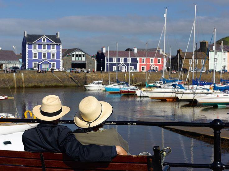 Port de Aberaeron, Baie de Cardigan, Pays de Galles