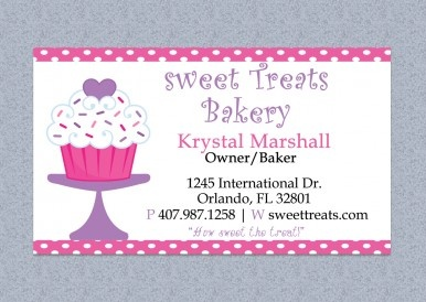 printable and editable microsoft word bakery business card. Black Bedroom Furniture Sets. Home Design Ideas