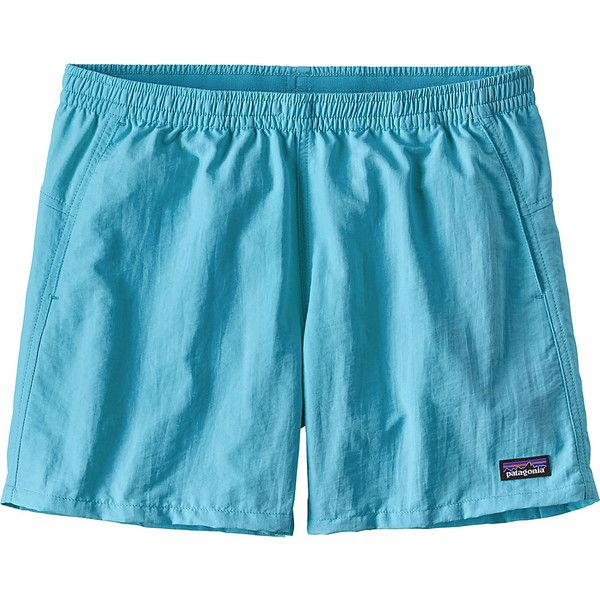 Patagonia Womens Baggies Shorts - XXS - Cuban Blue - Shorts ($41) ❤ liked on Polyvore featuring activewear, activewear shorts, blue, patagonia and patagonia sportswear