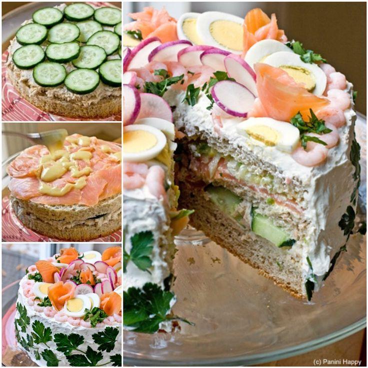 How to DIY Delicious Swedish Sandwich Cake Tutorial | www.FabArtDIY.com #tutorial #recipe #cakedesign #sandwich Follow us on Facebook ==> https://www.facebook.com/FabArtDIY