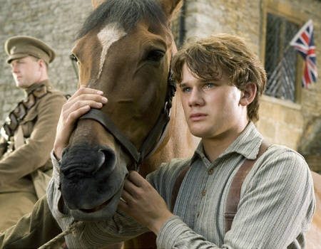 A shot from the film #Warhorse which is a reflection of the lives of soldiers from WW1 and the way animals, in particular horses were used in the war effort.