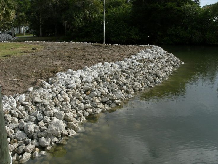 24 best erosion controlrip rap images on pinterest erosion basin filled and brip rapb install bank being graded solutioingenieria Choice Image