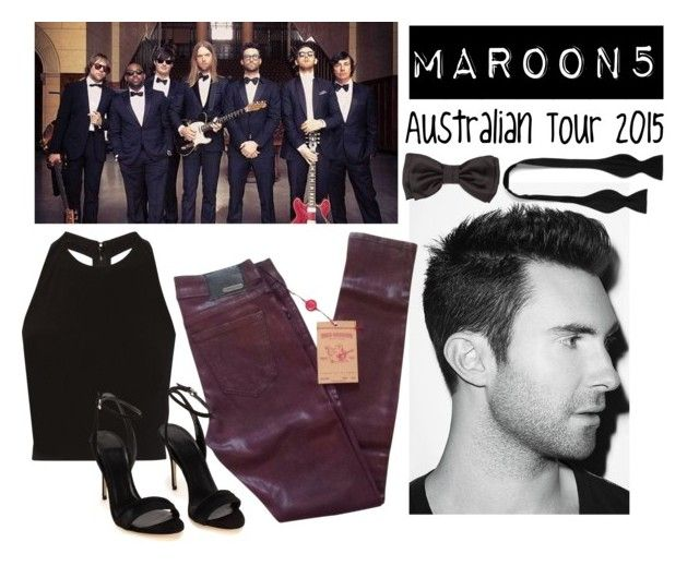 """""""Eve"""" by goingdigi ❤ liked on Polyvore featuring Adam Levine, True Religion, Alice + Olivia, Drakes London and BOSS Black"""