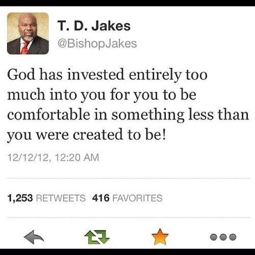 T D Jakes Quotes: T. D. Jakes Quotes. QuotesGram