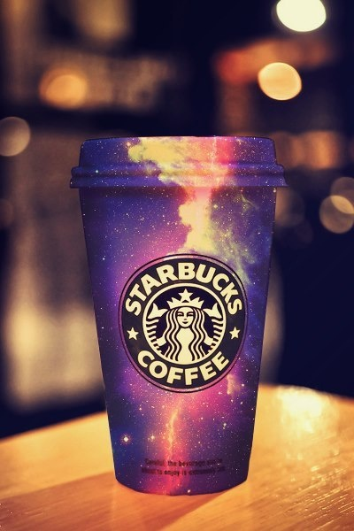 GiRlY on tumblr recreated her cup from Starbucks! Galaxy Blast, she calls it! @Starbucks Coffee USA