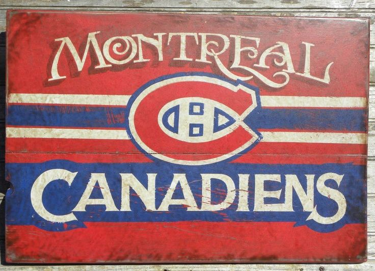 Old wood habs sign