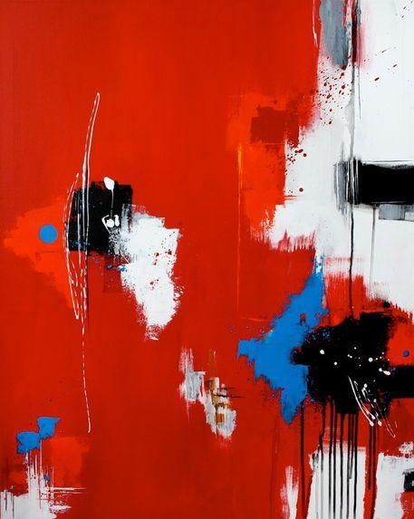 'Lieblingsfarbe ROT' von Claudia Neubauer bei artflakes.com als Poster oder Kunstdruck $6.48