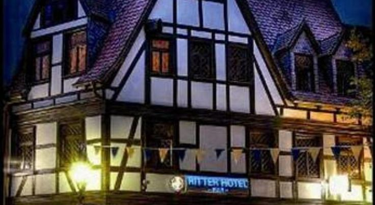 Ritter Hotel Frankfurt am Main This half-timbered hotel in central Frankfurt dates back to the 17th century. It offers unique rooms, a daily breakfast buffet and free WiFi. Main Plaza is a 5-minute walk away.