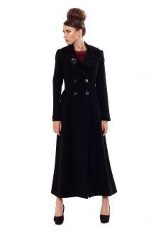 Palton din stofa neagra