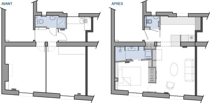 40 m² rénovés