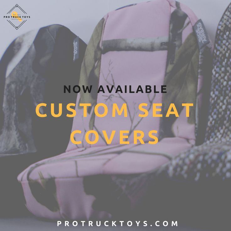 Custom covers for trucks!   Dodge, GMC/Chevrolet, Toyota and Ford!   We've got Real Tree and Neoprene, check out our website!   #ProTruckToys #Accessories #Automotive #SeatCovers #Cars #Trucks #RealTree #Camouflage #Neoprene #Interior #Custom