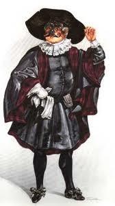 Dottore Gratiano, the pedant