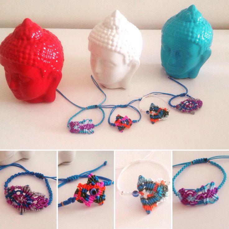 Boho mood! Handmade unique bracelets for this summer